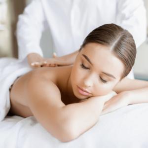 Rekondiční masáž záda, šíje